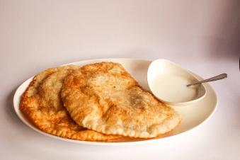Чебурек мікс (телятина+сир)