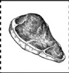 М'ясомен 12  pcs (з яловичиною та беконовим джемом)