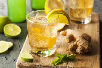 Лимонно имбирная