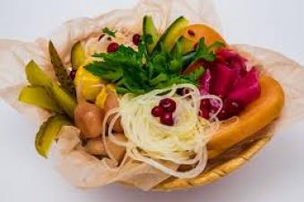 Разносол из овощей
