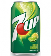 7UP Lemon lime (импорт)
