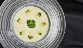Крем суп з броколі