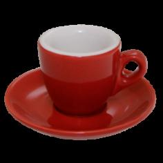 Espresso Cup Nuova Point Red