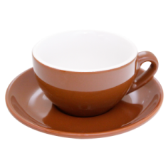 Cappuccino Cup Nuova Point Brown