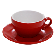 Cappuccino Cup Nuova Point Red