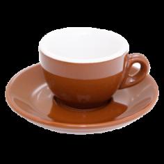 Espresso Cup Nuova Point Brown