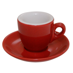 Espresso Cup Nuova Point Red