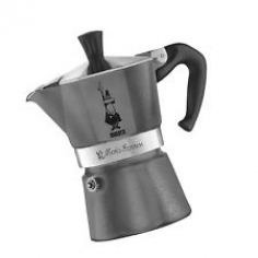 Moka Pot - BIALETTI Grey Emotion 3TZ