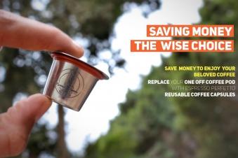 EP Reusable Coffee Capsule x3