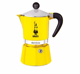 Moka Pot - BIALETTI Rainbow Yellow 3TZ