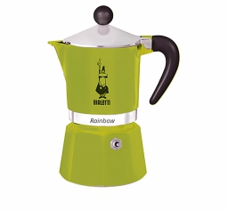 Moka Pot - BIALETTI Rainbow Green 3TZ