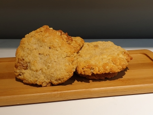 Печенье овсяное с орехом