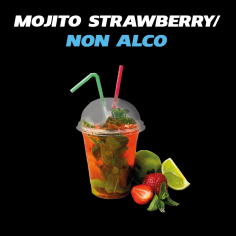 Stark Mojito non alcohol (Strawberry)