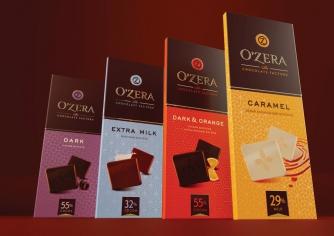 Шоколад O Zera в ассортименте