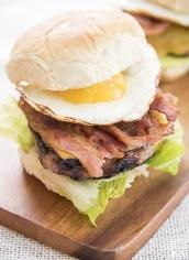 EggBacon Burger