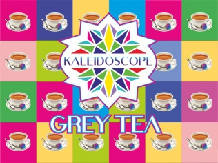 Kaleidoscope Grey Tea