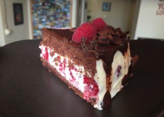 Торт Флірт малина