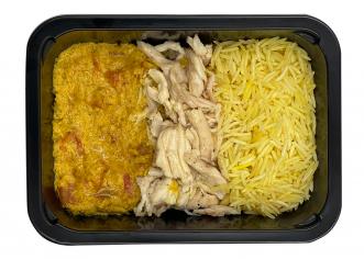 Рис із куркою каррі