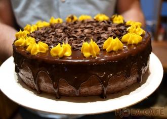 Торт Манго-шоколад