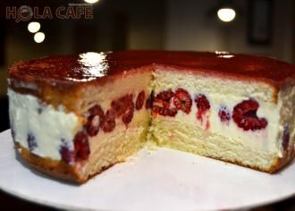 Торт Малиновий