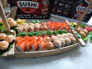 Сет - Sushi - Love ❤️ . Шт 56. Вес : 1820