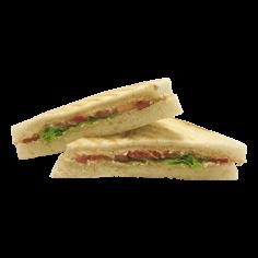 Сендвіч з ветчиной та овочами