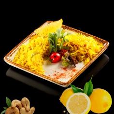 Лимонний рис зі спеціями та кеш'ю 150 г