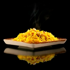 Лимонний рис зі спеціями та кеш'ю 250 г