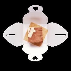 Бурфі шоколадно-вершковий 50г