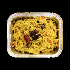 Індійський пряний овочевий плов