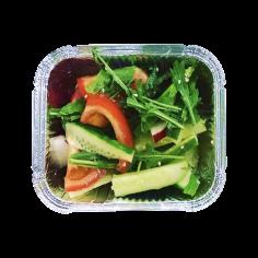 Овочевий салат карі