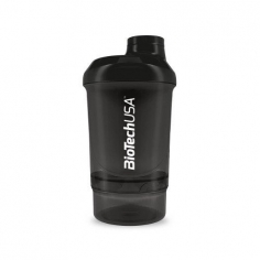 BioTechUSA Wave Compact Shaker 2 in 1 (500 мл.)