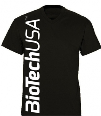 BioTechUSA мужская футболка чёрная