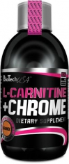 BioTechUSA L-CARNITINE+CHROME 500мл