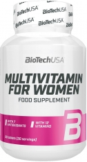 BioTechUSA Multivitamin for Women - 60tabs