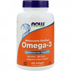 NOW Omega-3 1000 мг