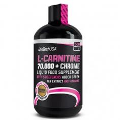 BioTechUSA L-carnitine 70.000 + Chrome (500 мл)