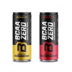 BioTechUSA BCAA Zero Energy Drink (330 ml)