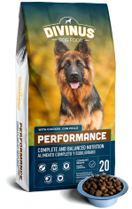 Divinus Performance 20kg,42% mięsa