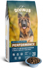 karma Divinus Performance dla psów aktywnych 42%