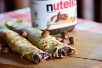 Naleśniki z Nutellą 1/2 porcji