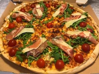 Crudo 40 Pizza 1/2