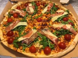 Crudo 50 Pizza