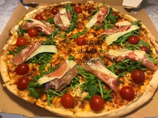 Crudo 50 Pizza 1/2