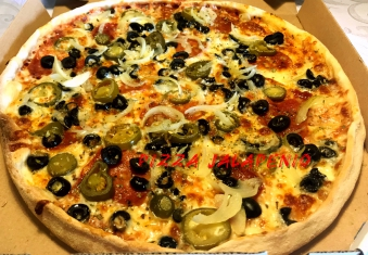 Jalapeno 30 Pizza 1/2