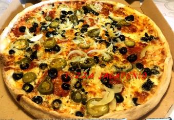 Jalapeno 50 Pizza 1/2