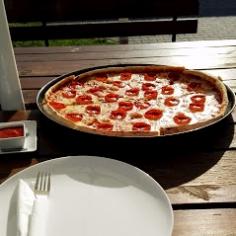 Pepperoni 40 Pizza 1/2