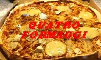 Quattro Formagii 30 Pizza 1/2
