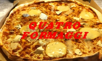 Quattro Formagii 40 Pizza 1/2