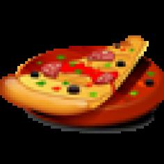 Rustica 40 Pizza 1/2